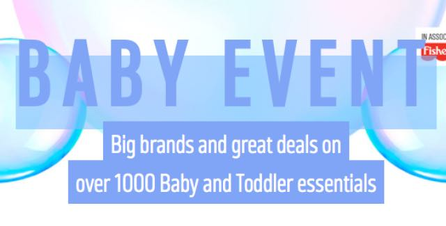 Argos Baby Event Live Today Find All