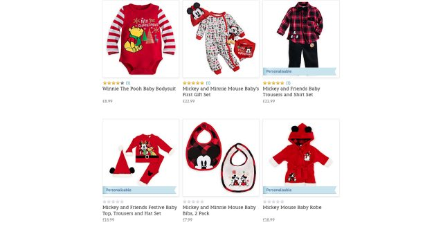 234fb772e So far in the range there is the Mickey Mouse Baby Pyjamas, Minnie Mouse  Baby Pyjamas, Winne The Pooh Baby Sleepsuit, Winnie The Pooh Baby Bodysuit