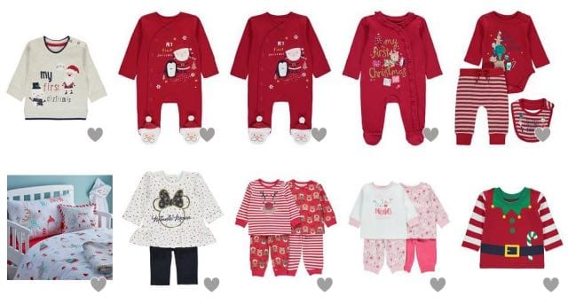 Baby's 1st Christmas Clothes for 2018